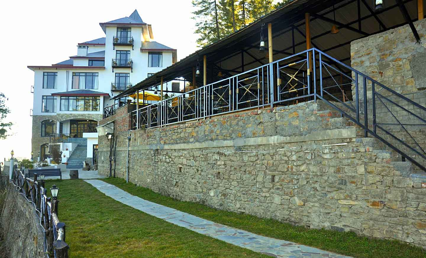 Amod Tethys Sky Resort And Spa Narkanda Tethys Ski Resort Narkanda Book Resorts In Narkanda Shimla